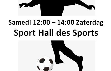 Foot & Basket Haren 2018-2019: samedi 12h-14h